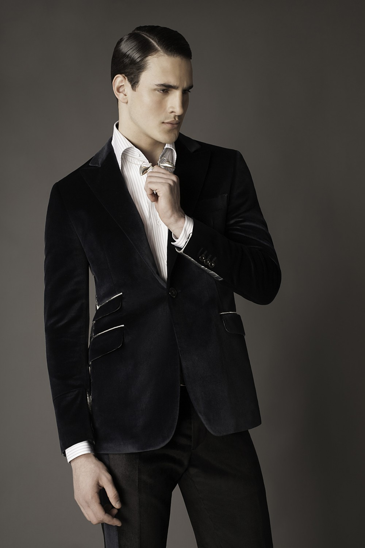 Colour: Dark teal - Silver Fabric: Cotton/silk velvet - American Alligator Lining: Viscose
