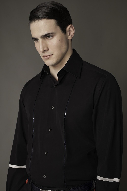 Colour: Black - Navy sequins Fabric: Cotton - Sequins
