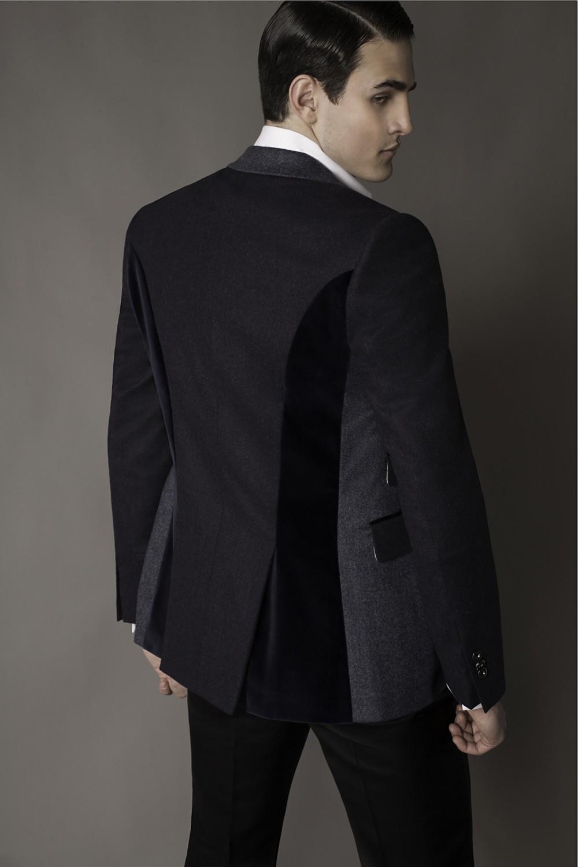 Colour: Dark blue- Navy - Light blue Fabric: Cashmere/silk/wool - Cotton velvet - Cashmere/silk/wool Lining: Viscose