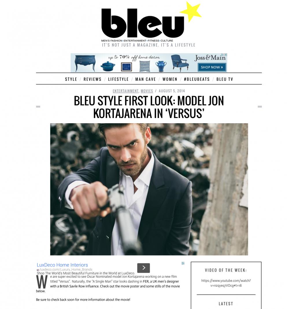 Press: Bleu August 2014