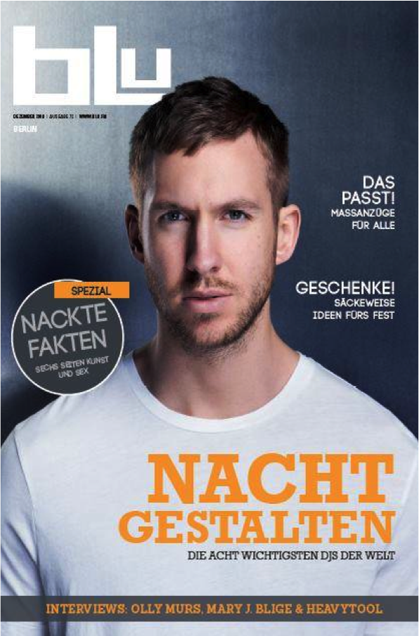 Press: Blu Berlin August 2014
