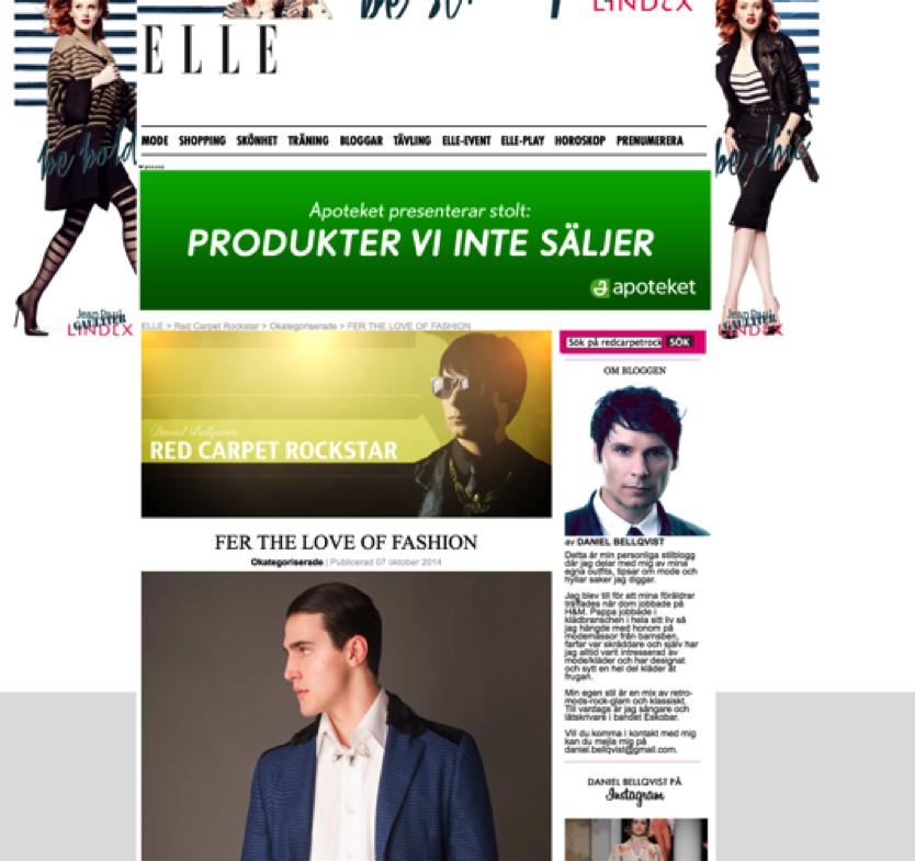 Press: ELLE October 2014
