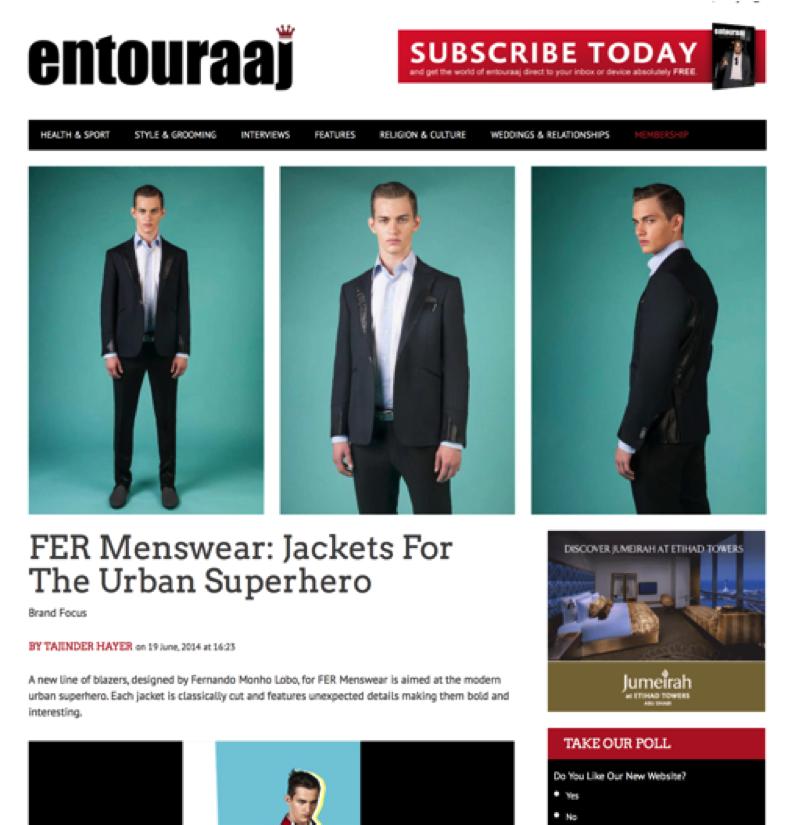 Press: Entouraaj June 2014