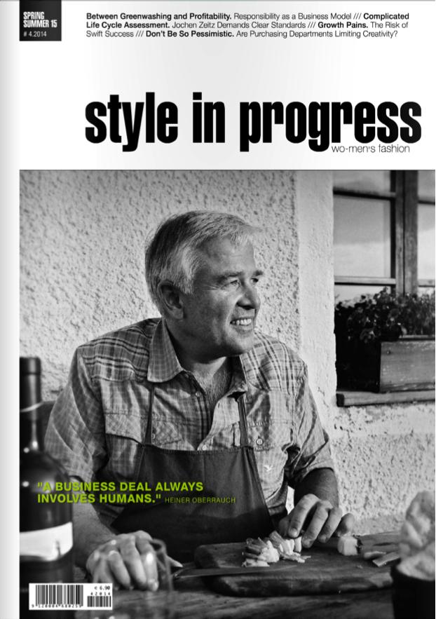 Press: Style in Progress April 2014